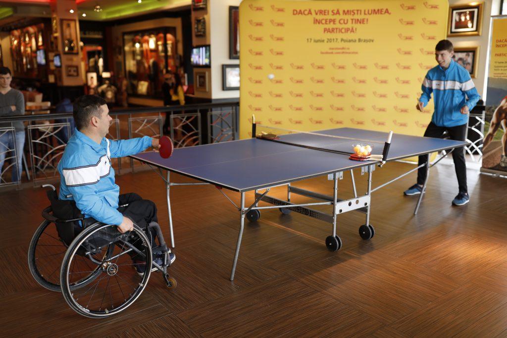 Reprezentantii Comitetului National Paralimpic