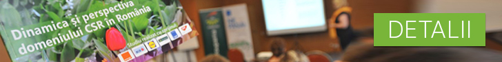 Studiul Dinamica si Perspectiva domeniului de CSR din Romania - 2017