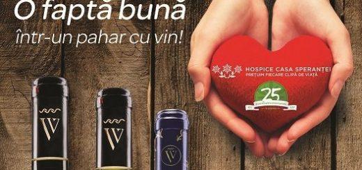 2017 Campanie caritabila Carrefour si Via Viticola - Sarica Niculitel pentru- Fundatia Hospice