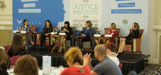 Conferinta de lansare_JUSTICE INSTITUTE