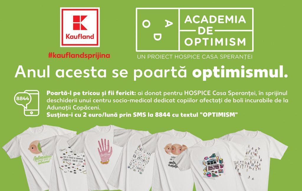 Kaufland_HOSPICE_Tricouri Optimiste