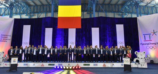 Lotul Romaniei la Jocurile Olimpice de Iarna 2018