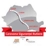 Holcim Romania sustine Caravana Sigurantei Rutiere, cu instructori ai Academiei Titi Aur