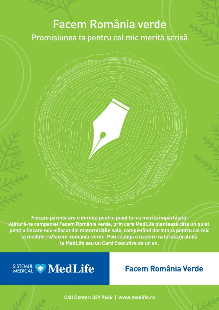MedLife Facem Romania Verde, a etapa a doua
