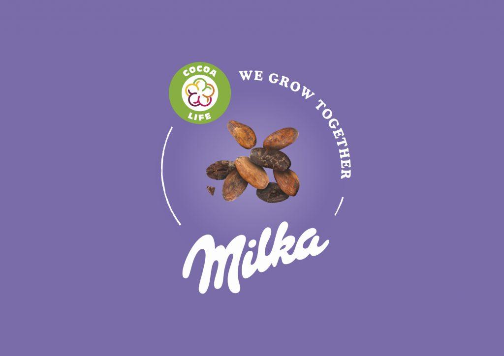 Milka Cocoa Life logo