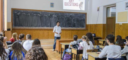 Vizita la clasa - proiect orientare profesionala