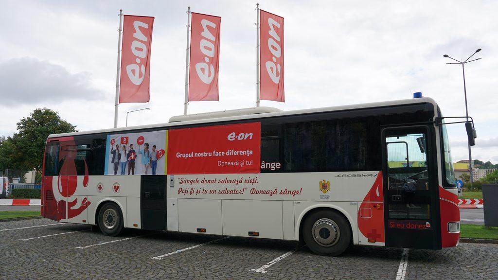 Centrul mobil donare sânge Tîrgu Mureş