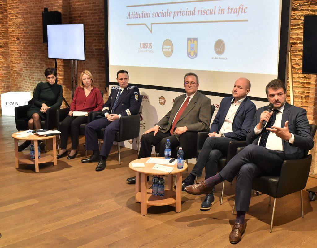 Conferinta Atitudini Sociale privind riscul in trafic_30 noiembrie 2018