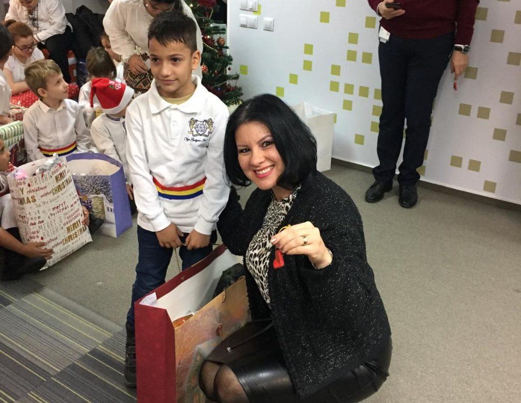 Grupul CEZ in Romania deruleaza pentru al 4 lea an consecutiv actiunea interna Mos Craciun de Serviciu in beneficiul copiilor Fundatiei Sf. Dimitrie