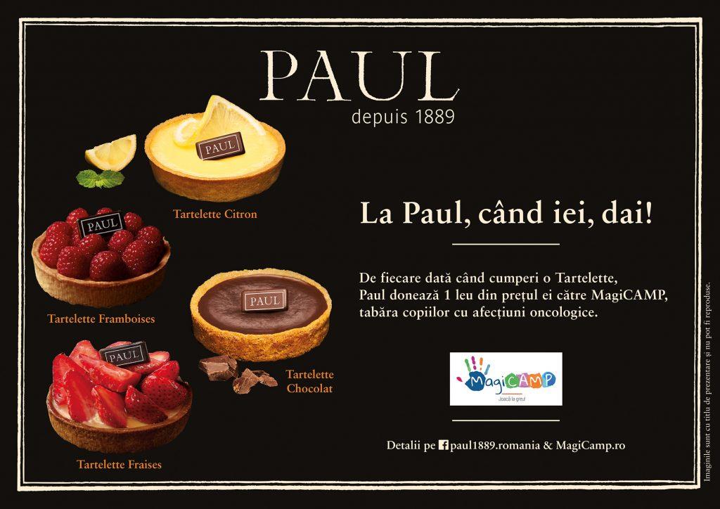 Brutariile PAUL sprijina MagiCAMP