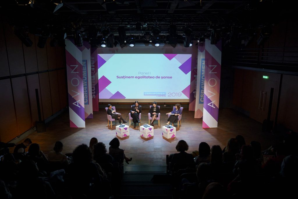 CSR4WOMEN Elena Vladareanu, Livia Aninosanu, Mihaela Nabar, Paula Herlo