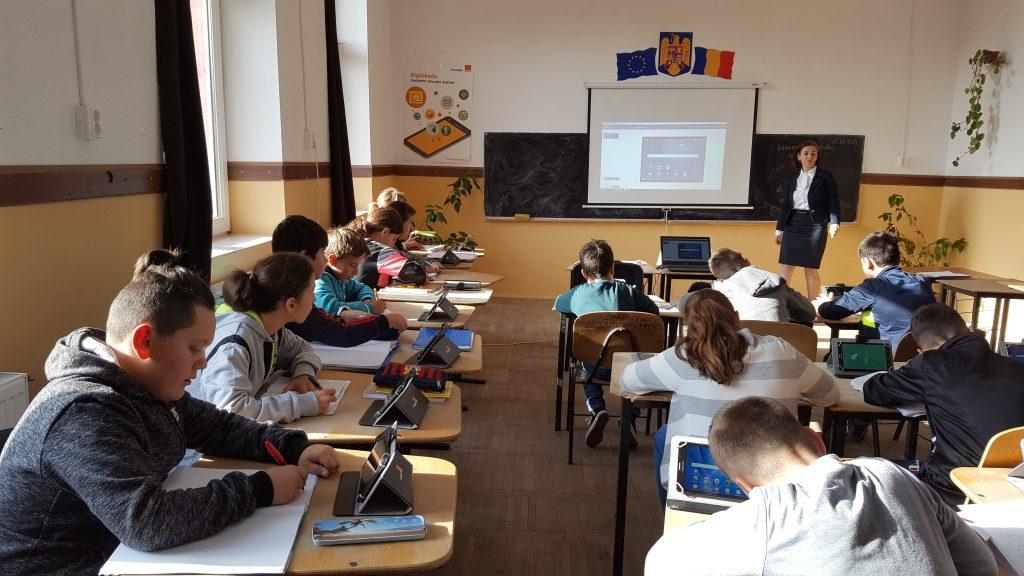 Digitaliada in scoli din mediul rural 2