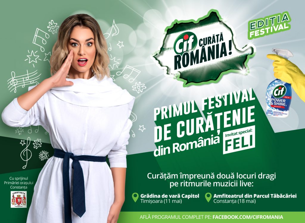 Cif Curata Romania - Editia Festival