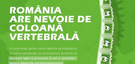 Romania are nevoie de coloana vertebrala 2019