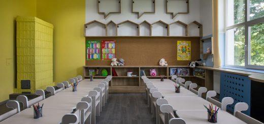 Clasa 0 Școala Sohatu_după renovare 2