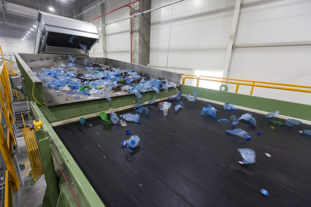 Sortare plastice Greentech