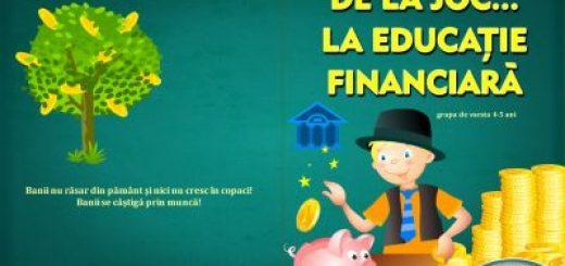 de la joc la educatie financiara bcr