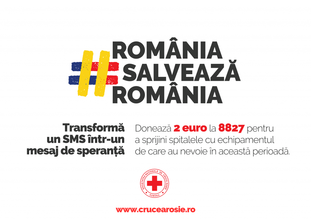 crucea rosie romania salveaza romania