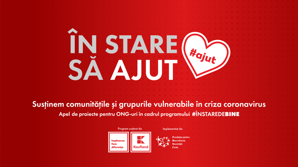 In stare sa ajut-Kaufland Romania si FDSC