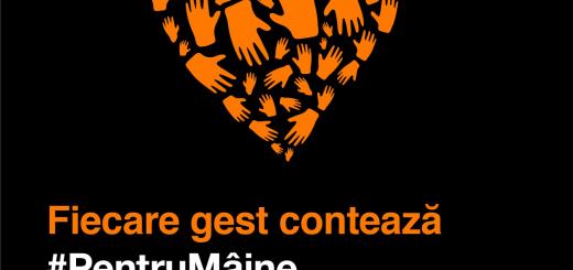 Orange - Fiecare gest conteaza