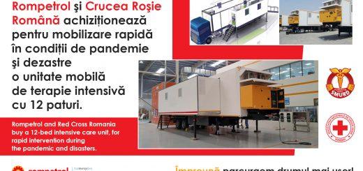 Parteneriat Rompetrol- Crucea Rosie Romana