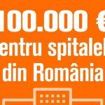 Help Net a donat 100.000 euro pentru dotarea spitalelor, catre Daruieste Viata