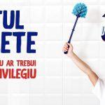 Domestos: Toaleta din curtea unei scoli din Teleorman va fi inlocuita cu un grup sanitar modern!
