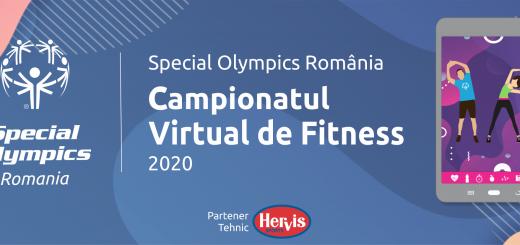Campionat Virtual de Fitness 2020, Special Olympics Romania