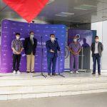 BCR a donat Spitalului Universitar primul robot autonom de sterilizare realizat in Romania