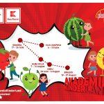 KAUFLAND: Akademia Kinderland -Scoala mobila de vara despre alimentatie sanatoasa