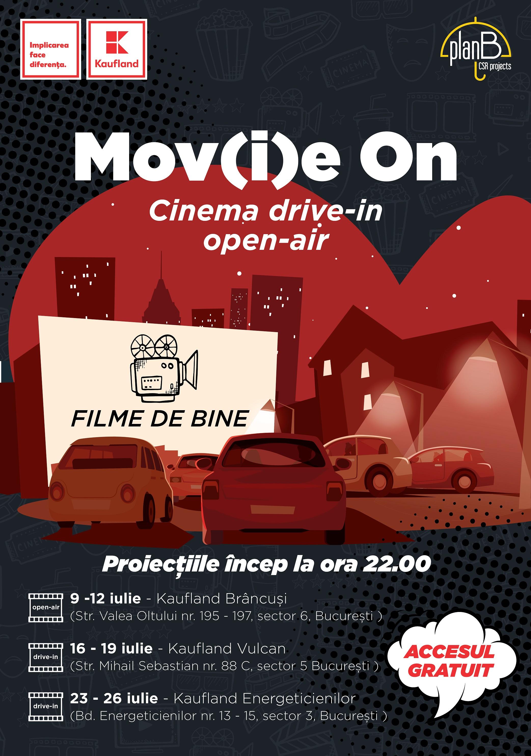 Program festival filme MOVIE ON