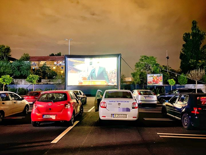 Imagine cinema drive in