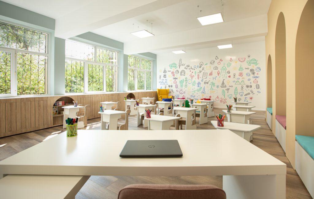 Sala de clasă după renovare 2