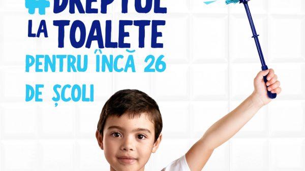 Domestos susține igiena în școli