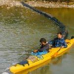 """Lidl: Barieră plutitoare pe râul Buzău, in cadrul programului """"Cu Apele Curate"""""""